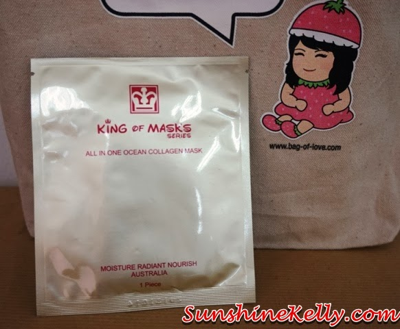 New Year New You with Bag Of Love Review, New Year New You, Bag Of Love, beauty bag, beauty review, King of Mask, King of Mask All In One Collagen Mask