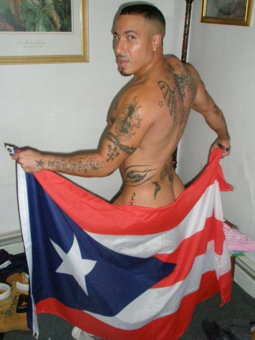 hot puerto rican nude men