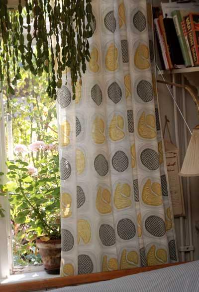 k?ket gardiner  Broarne se Bloggen Nya gamla gardiner i k?ket