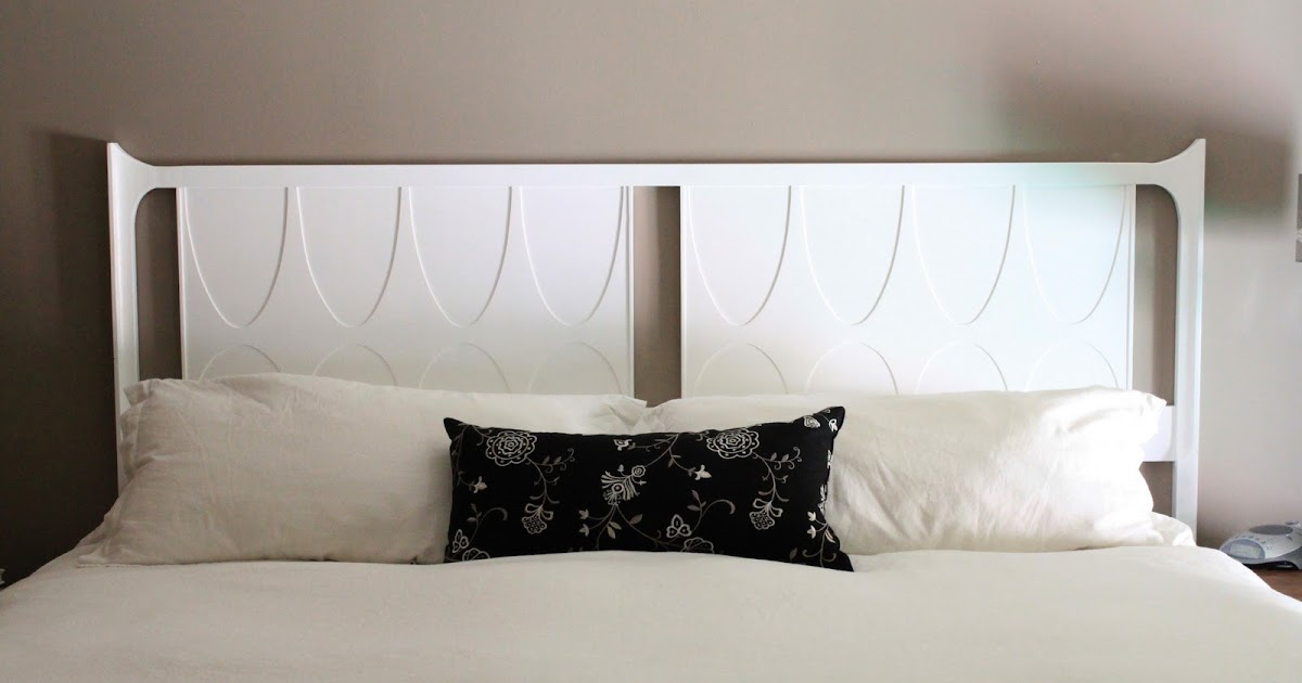The Creative Imperative White Painted Headboard