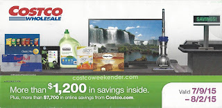 Current Costco Coupon Book July 2015