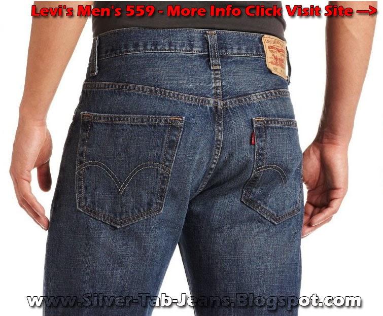 Levi's Men's 559 Silver Tab Replacement Indie Blue Color Size 31Wx34L