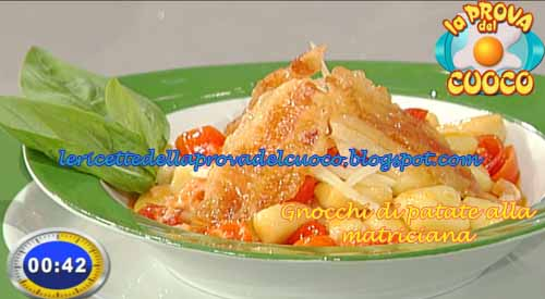 Gnocchi di patate alla matriciana ricetta La Prova del Cuoco