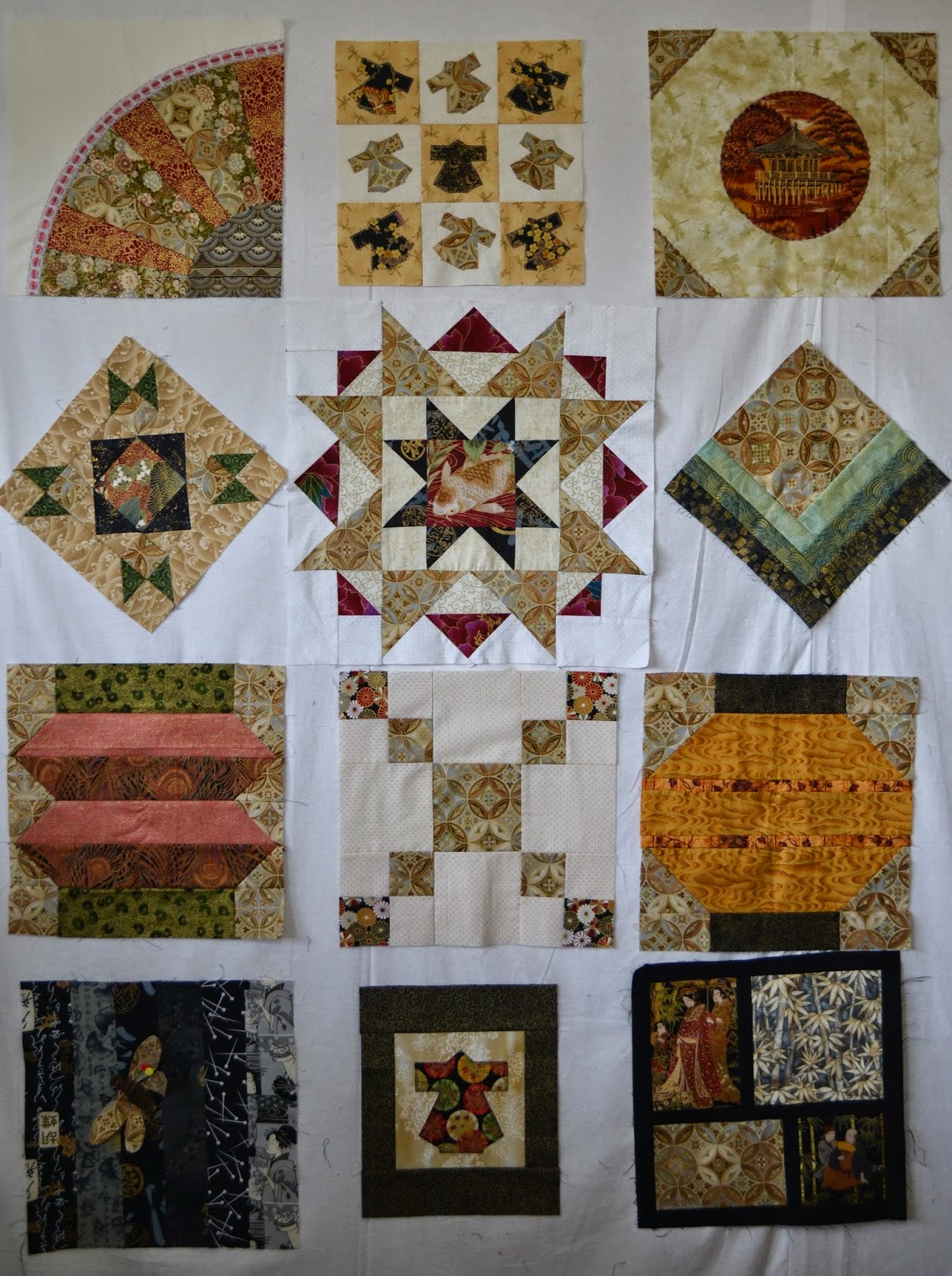 Quilt Guild Exchange Ideas : Magpie Quilts: Guild Tinners Exchange Done!