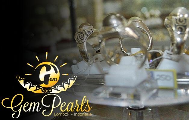 Cincin Gem Pearls