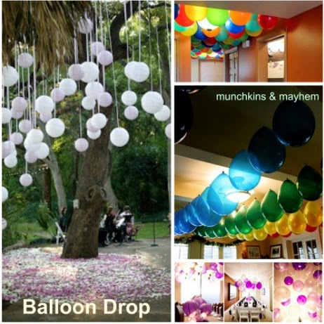 Balloon Drop Balloon Themed Birthday Party Munchkins and Mayhem