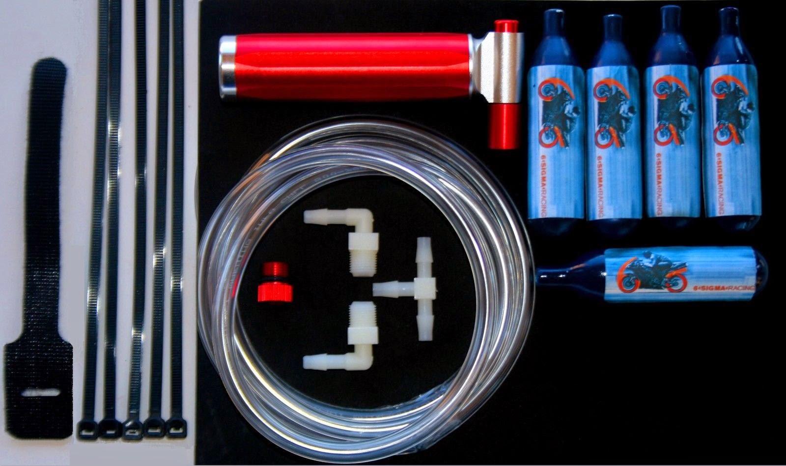 Motorcycle Pocketbike Gas Bike 50 66 80 90 110 125 cc NOS Mini Nitrous Oxide Kit