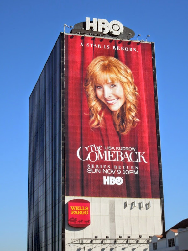 The Comeback giant series return billboard