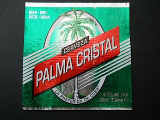 cuban beer Palma Cristal