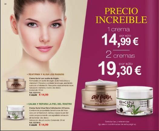 Ofertas de Cremas 2x 19.30€ C-1 2015
