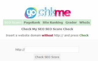 100% SEO Score Test Results From chkme(dot)com