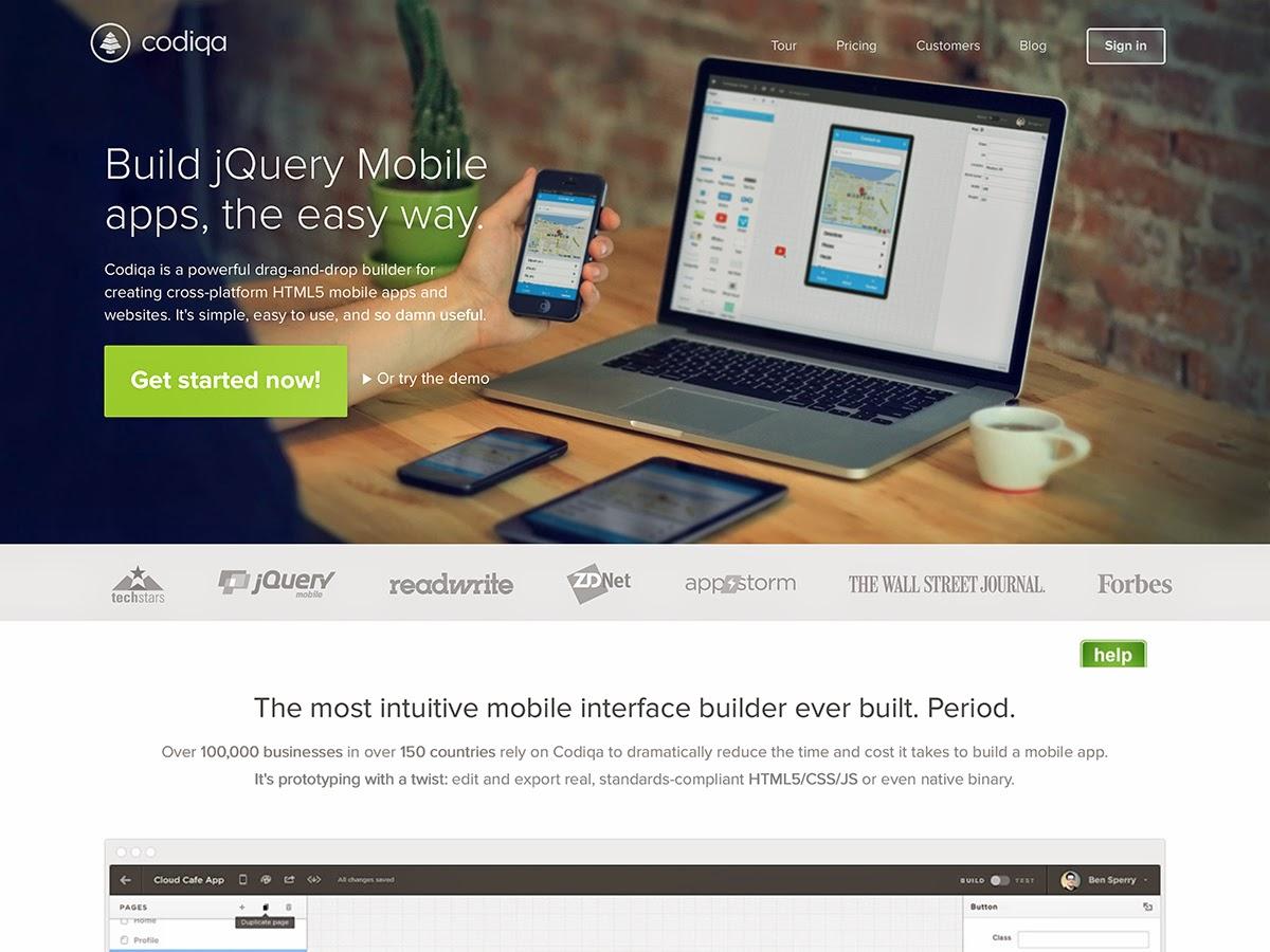 Codiga, diseño con Bootstrap