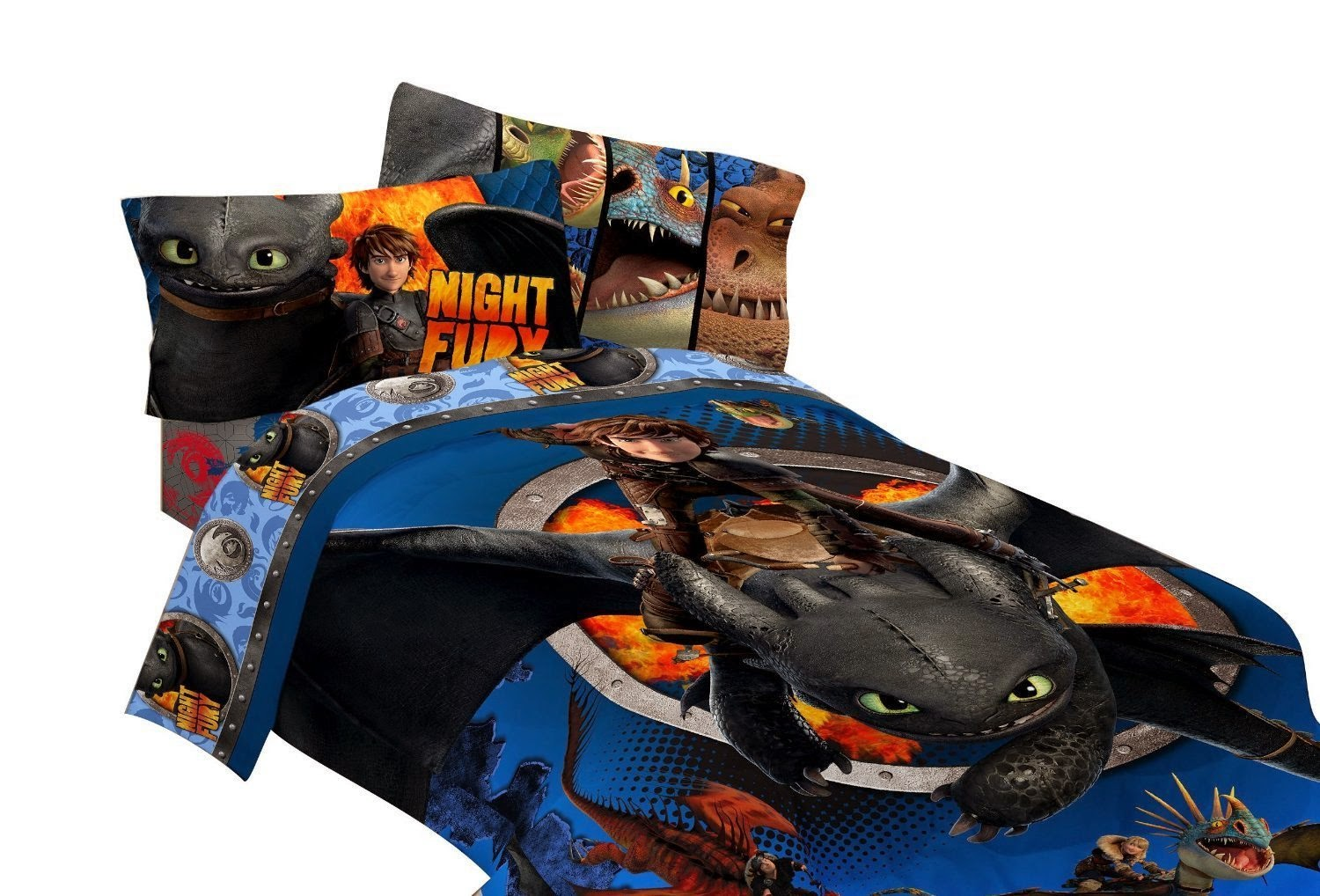 How to Train Your Dragon Bedding Sets. Bedroom Decor Ideas and Designs   How to Train Your Dragon  Themed
