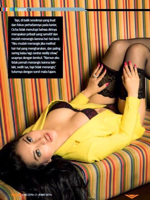 Cicha Claudya telanjang