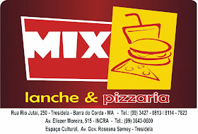 MIX LANCHE E PIZZARIA