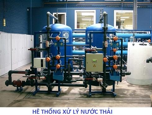 Hệ thống xử lý nước thải ở Ecolife Capitol Lê Văn Lương
