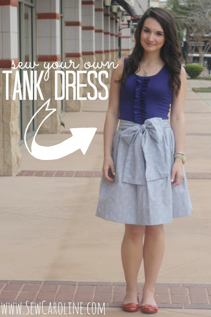 tank dress sewing tutorial