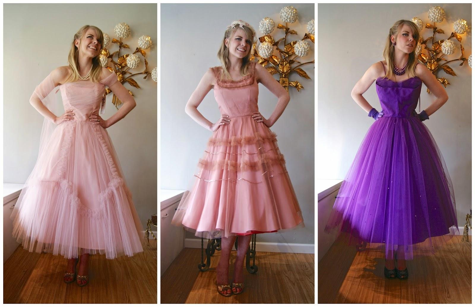 Xtabay Vintage Clothing Boutique - Portland, Oregon: Pretty in Prom ….
