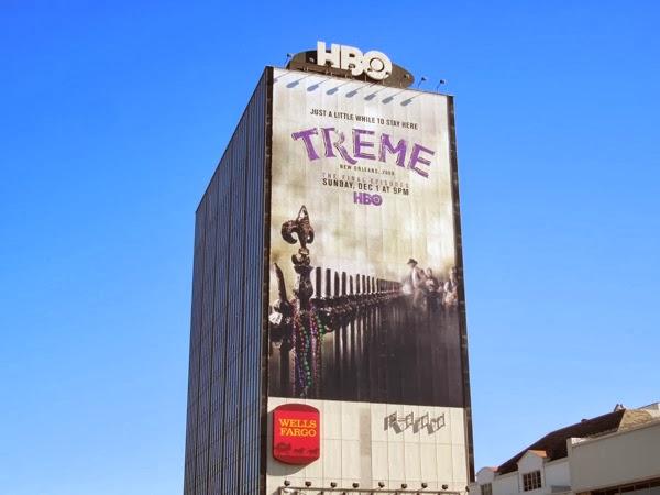 Giant Treme final season billboard