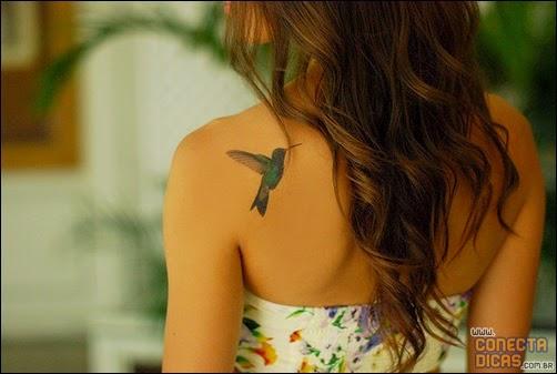 Tatuagens Femininas nas costas pequenas