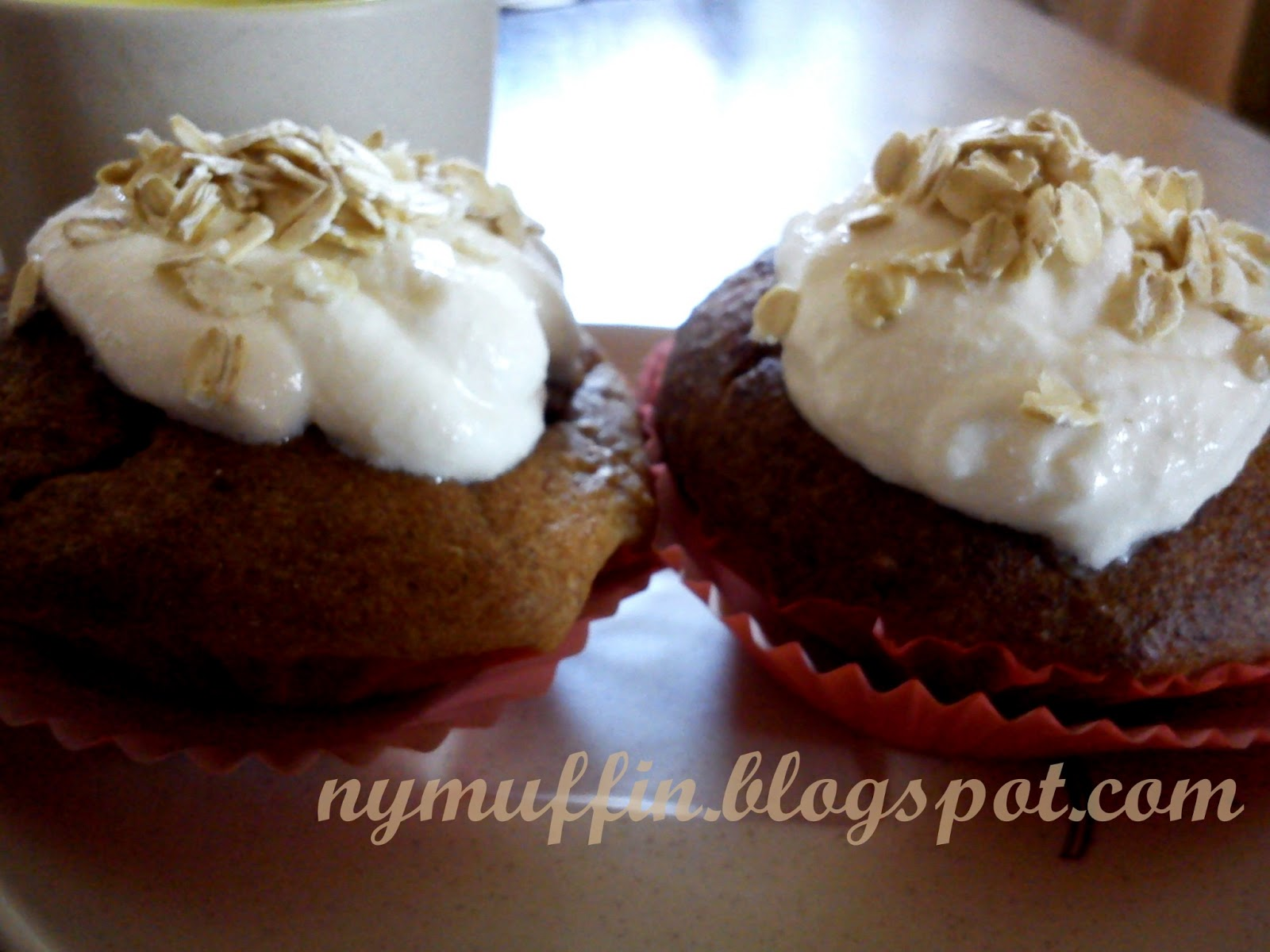Dietetyczne muffinki babeczki bananowe