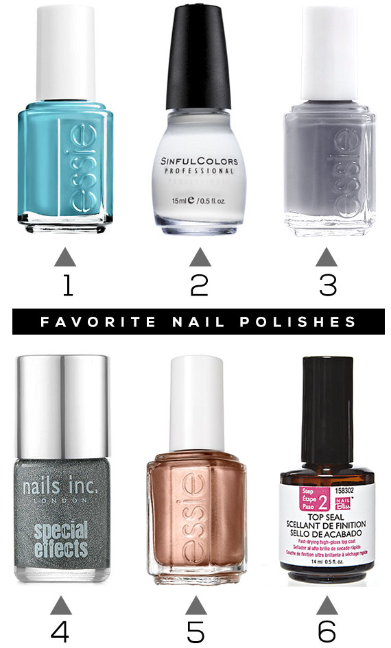 Our Favorite Nail Polishes, Summer 2014 Edition // Bubby and Bean