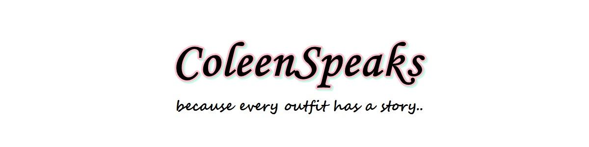 Coleen Speaks