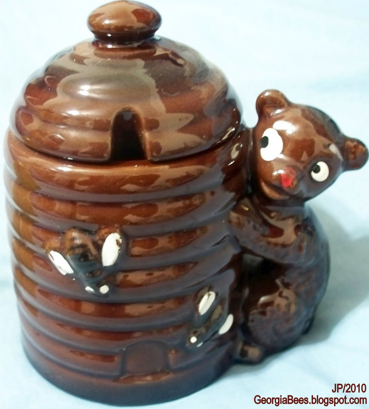 Bear with Honey Pot