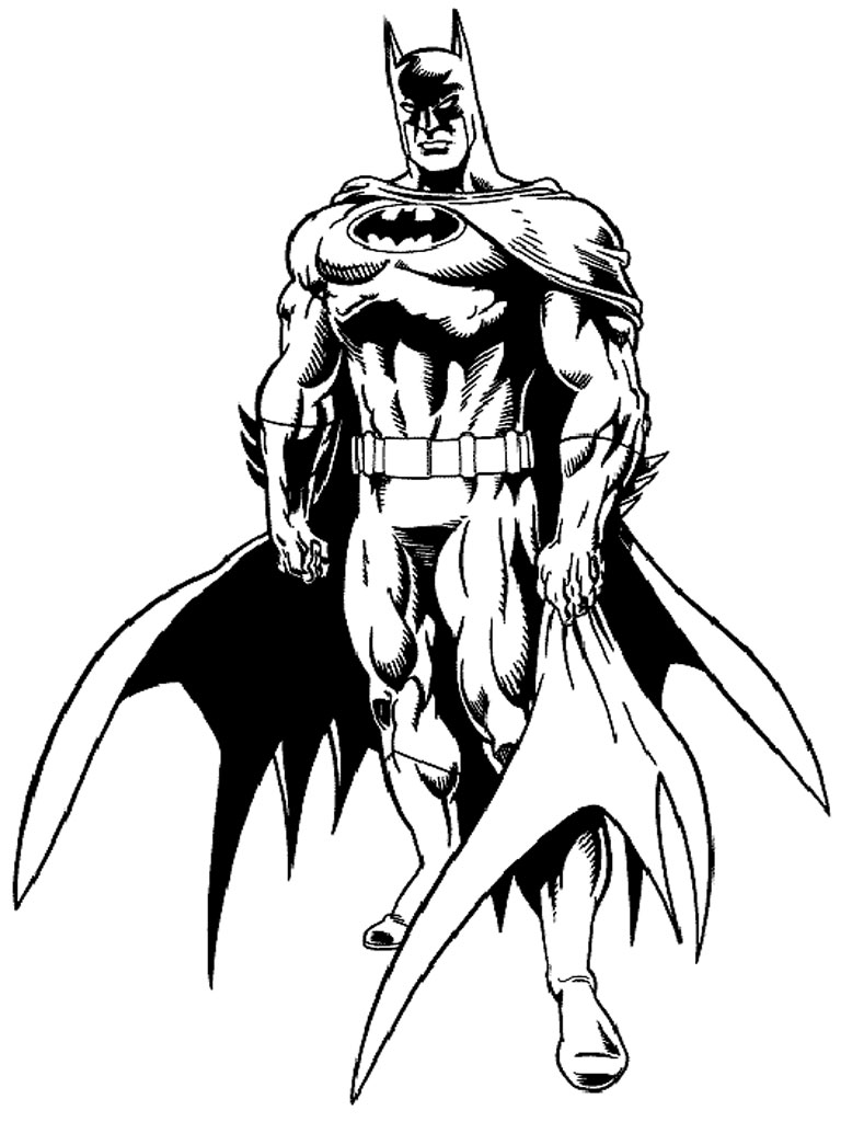 Download Batman Coloring Pages