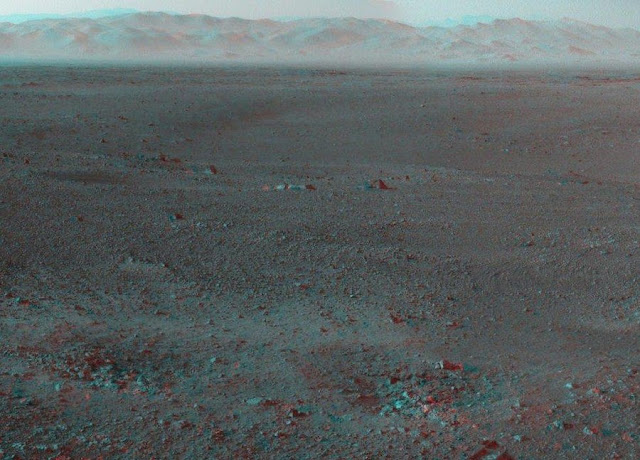 Panorama Exclusive 3D views of mars