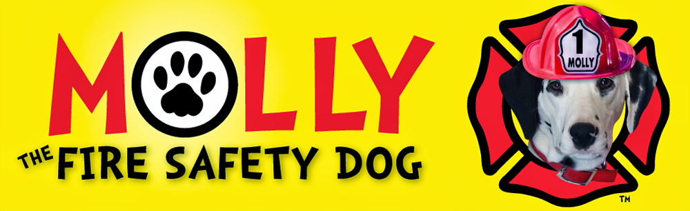 Molly the Fire Safety Dog