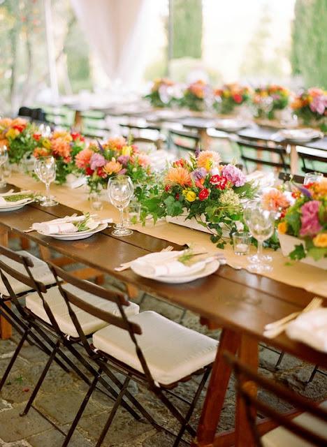 Elegant Table Settings Collar City Brownstone
