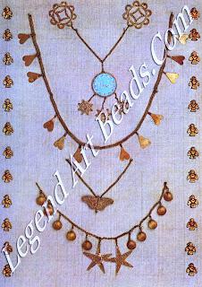 Granular jewelry of Princess Khnumet, from Dahshur