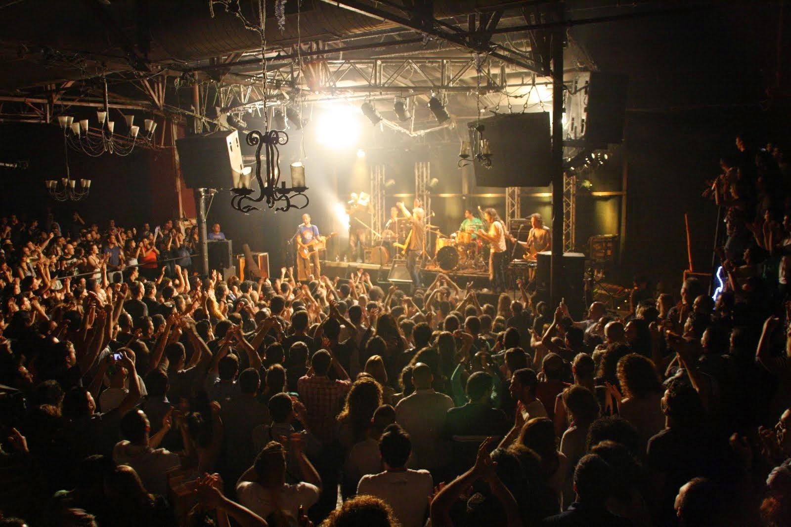 איפה יש הופעות רוק בתל אביב