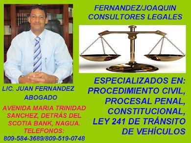 LIC. JUAN FERNANDEZ, TIENE NUEVO HOGAR JURIDICO