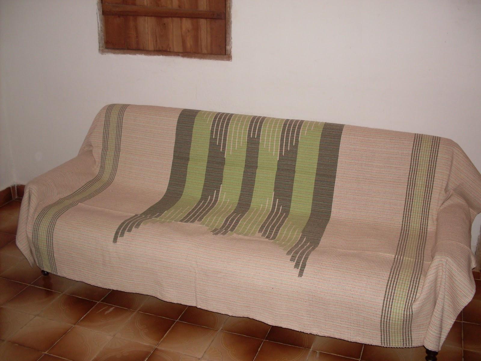 Mineirinho artes manta de sof com desenho geom trico colcha de casal ou solteiro - Colchas para sofas baratas ...