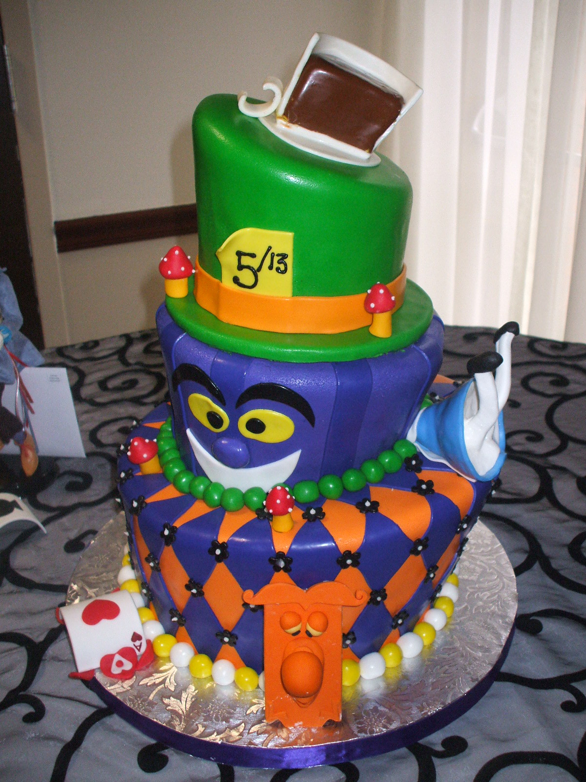 Thats A Cake Mad Hatter Alice In Wonderland