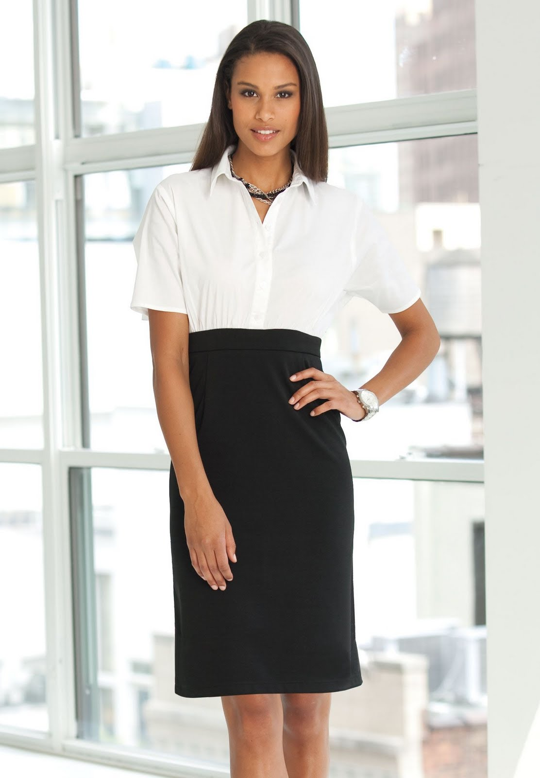 Look professional, feminine and chic with perfect office dresses, tops, shoes and handbags! Office fashion at affordable prices at celebtubesnews.ml