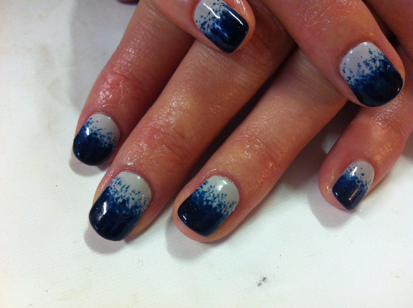 Brush Up And Polish Up Cnd Shellac Nail Art Stippling With