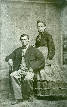 John Paul and Susanna Busch, c. 1872