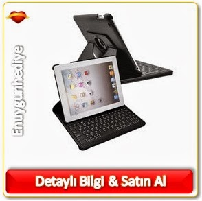 iPad Mini Bluetooth Klavyeli Kılıf