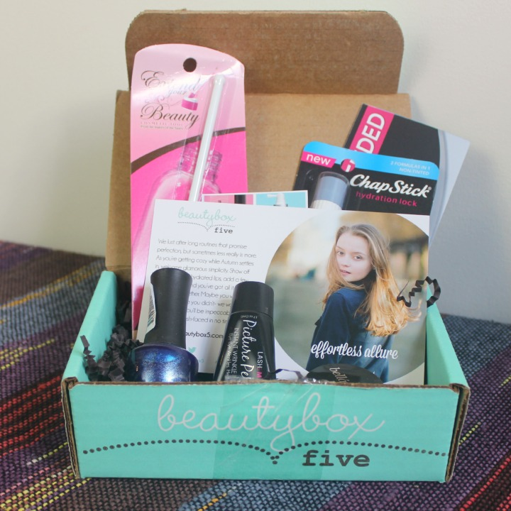 Beauty Box 5 five - October 2014 Review & Unboxing