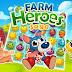 لعبة اللغز والذكاء: أبطال المزرعة | Farm Heroes Saga | لعبة تطابق من مطوري كاندي كراش - مجانية (مراجعة)