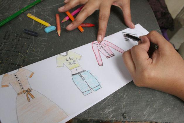 hacer muñecas papel