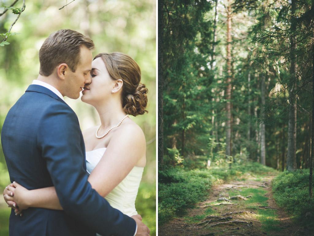 Hanna och Peters bröllopsfotografering