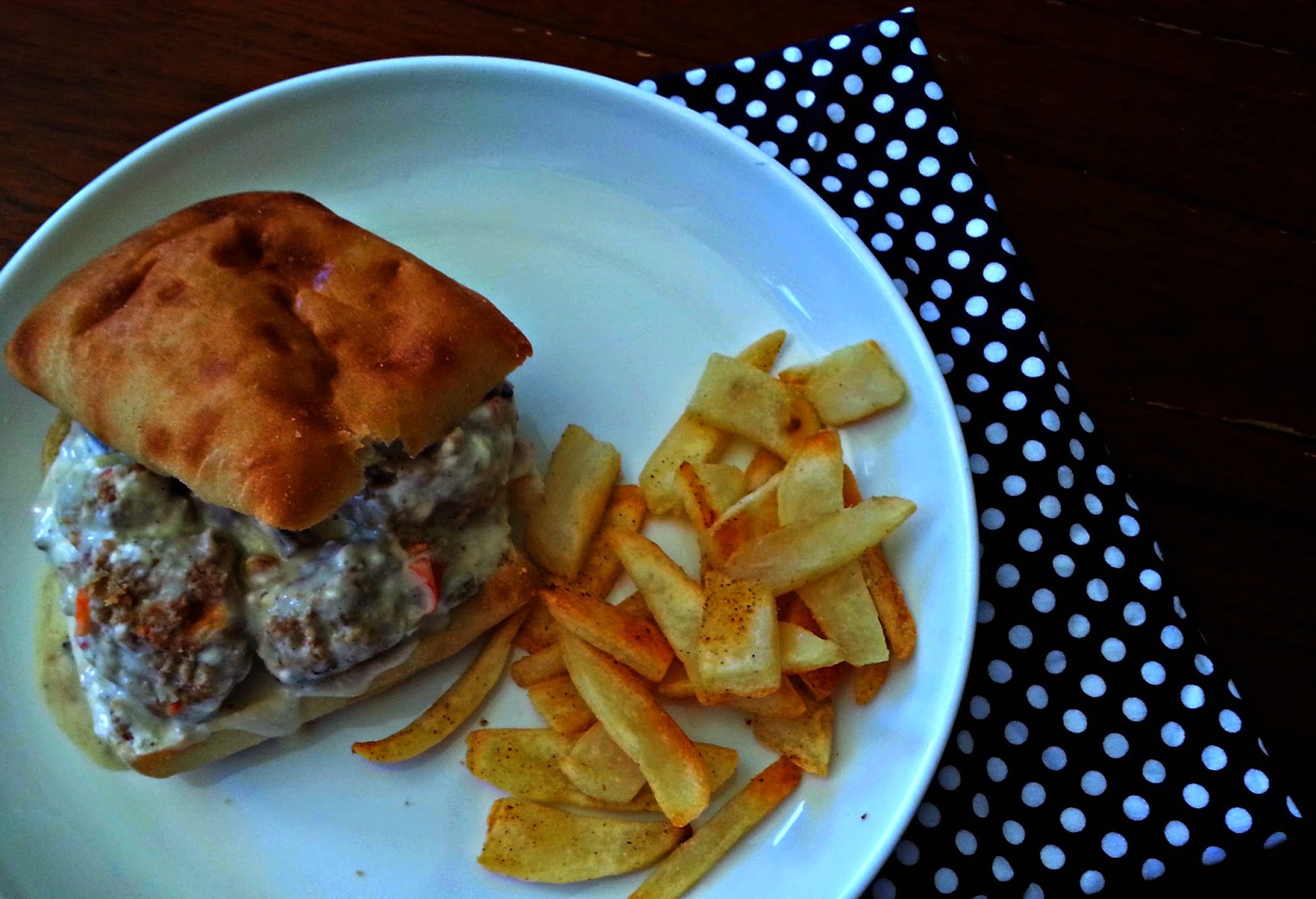 Swedish Meatball Sandwiches