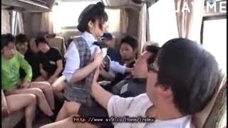 Video Hot Party seks di dalam Bus | Japanese face bukkaked