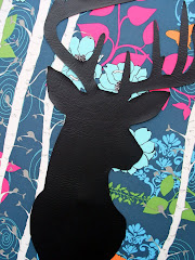 Deer Silhouette Wall Art Tutorial