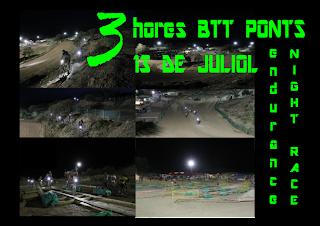3 HORES BTT PONTS-13 DE JULIOL-21 HORES