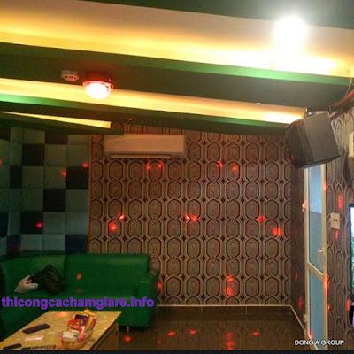 thi công cách âm karaoke